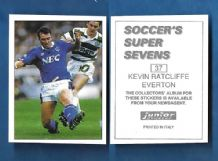 Everton Kevin Ratcliffe 37